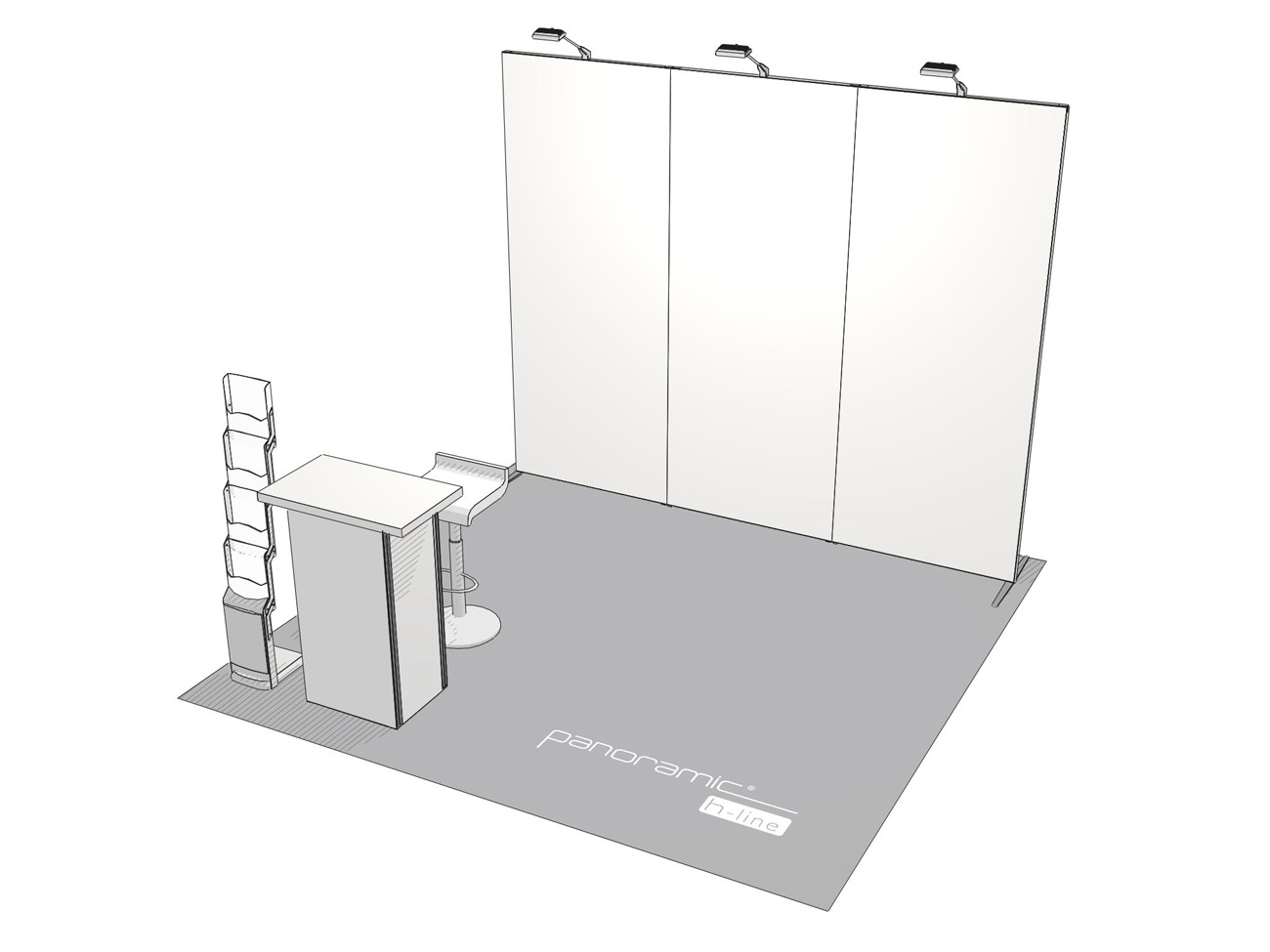 Exhibition Booth Size : Tradeshow booth kits library u starline exhibits international